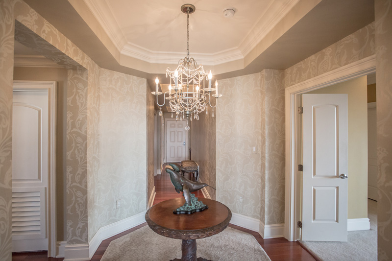 Real Estate Photography, decorative entrance way