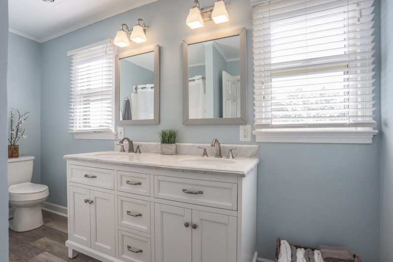 Real Estate Photography, double vanity
