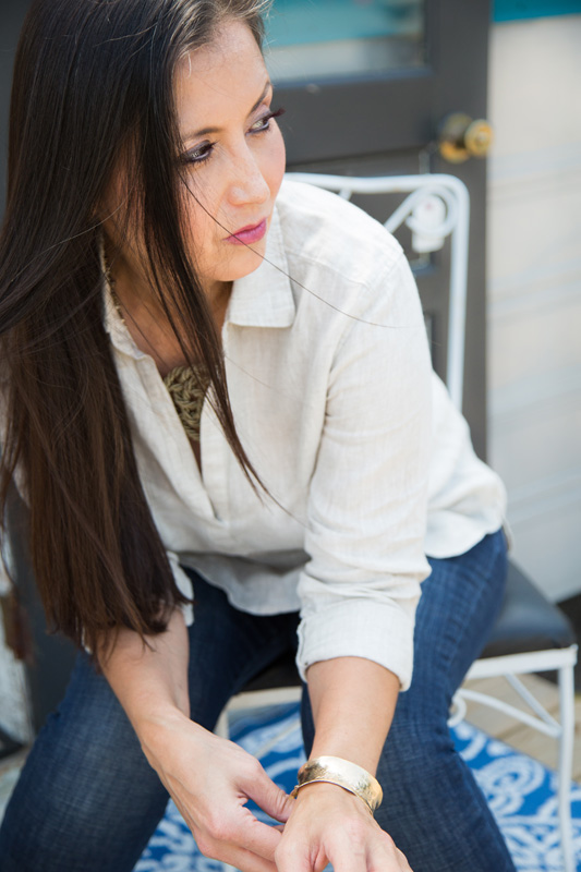 Branding Photography & Product Photography, stylized headshot of woman