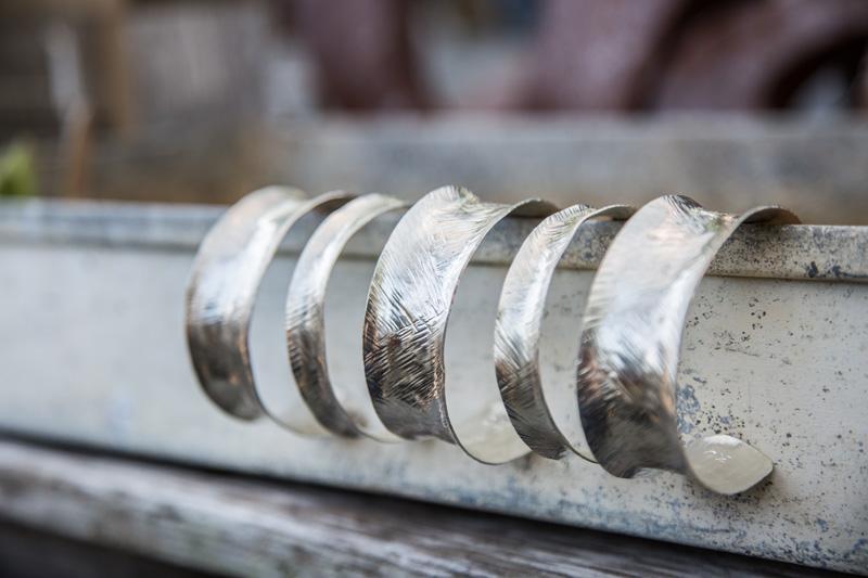 Branding Photography & Product Photography, silver bracelets
